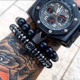 Crown and Skull high fashion bracelets