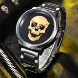 LIMITED EDITION - 3D SKULL WATCH