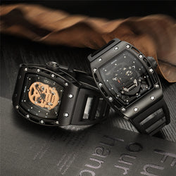 Pirate Skull Faced Wrist Watch