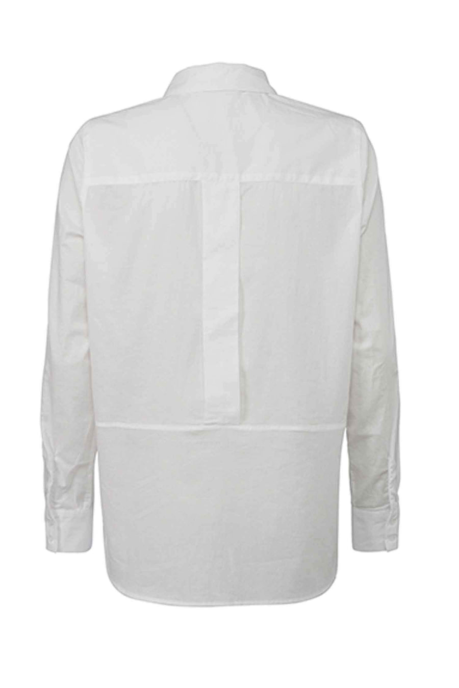 Blouse Transparent in Pure White by Yaya Frockaholics.com