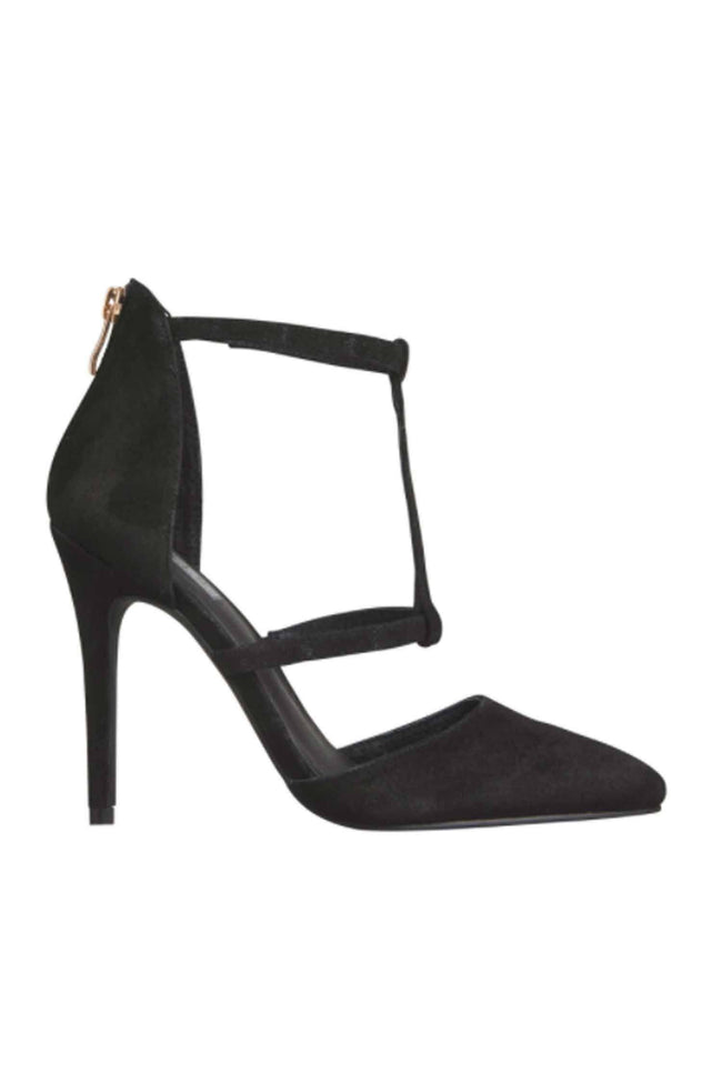 The Rose Black Suede by Skin Footwear.