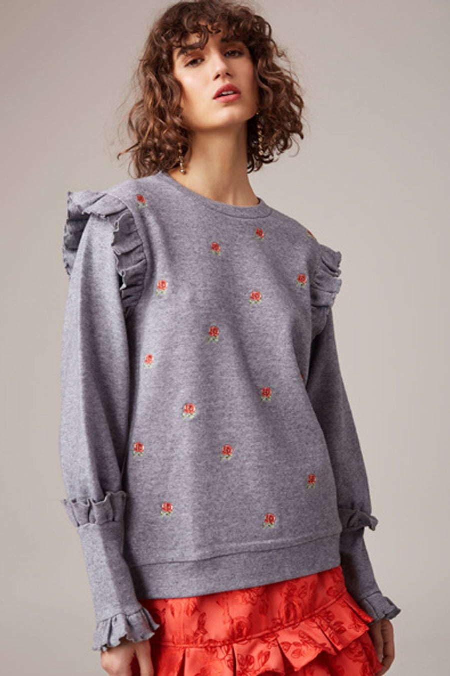 Shop Online Thrill Seeker Jumper in Grey by C/MEO Collective  Frockaholics Tops