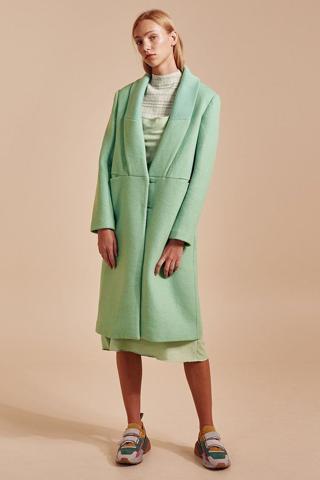 Duality Coat in Mint