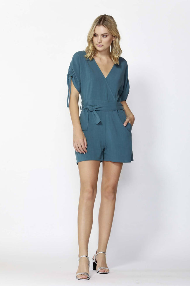 Horizon Waist Tie Playsuit