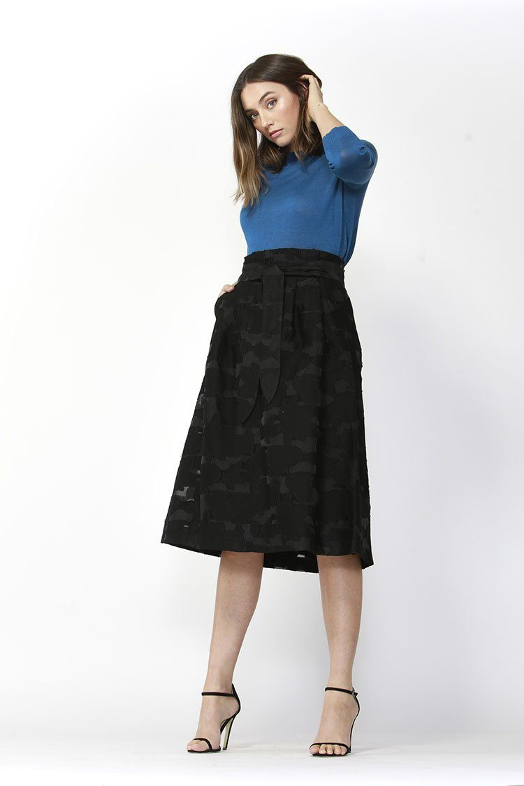 Keep It Real Textured Skirt