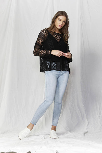 Covent Garden Knit Top | FINAL SALE Tops Fate + Becker