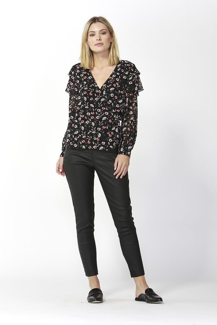 Nolita Wrap Blouse