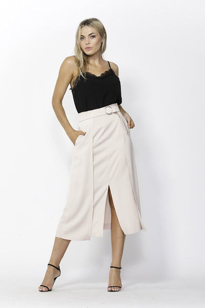 To Die For Skirt in Soft Pink Bottoms Fate + Becker
