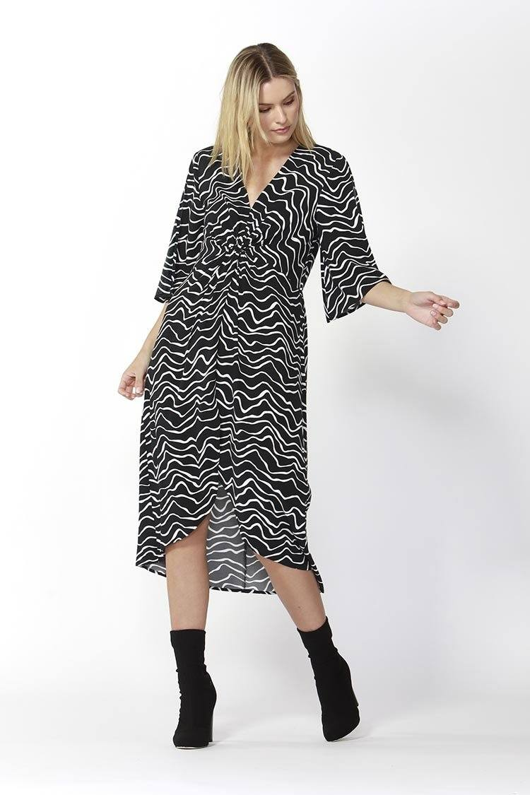 Star Struck Dress in Animal Print