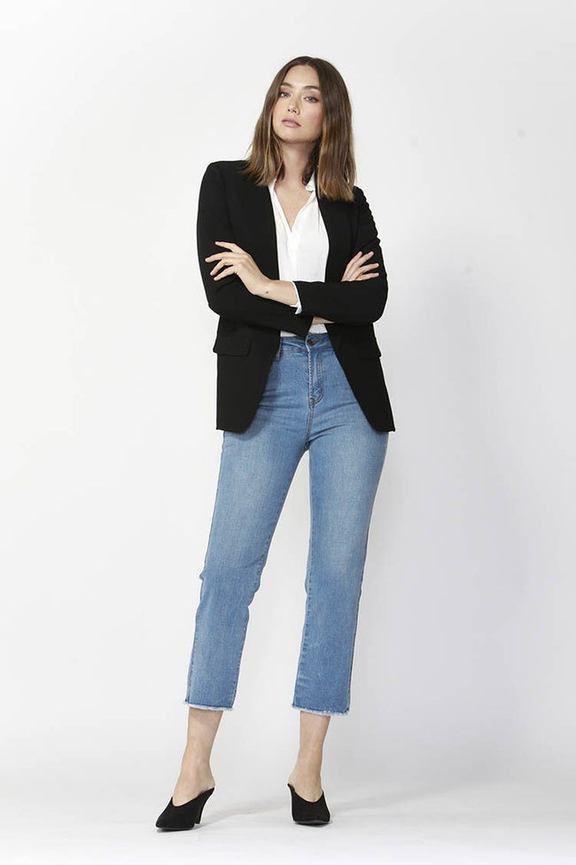 Noon To Night Blazer in Black