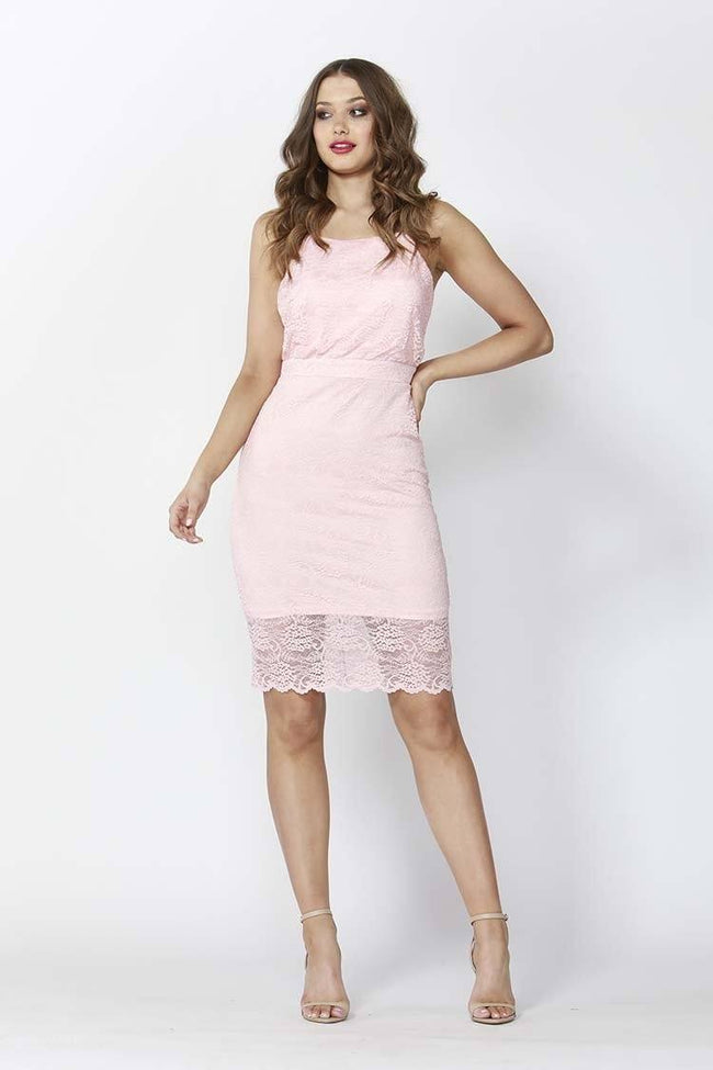 High Stakes Lace Dress
