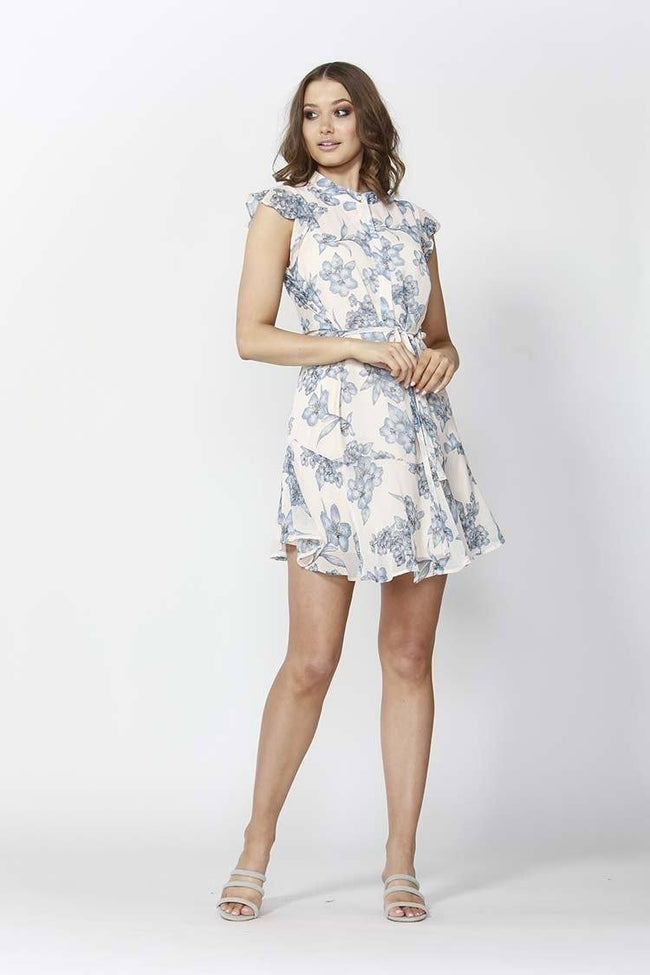 Flemington Floral Ruffle Dress