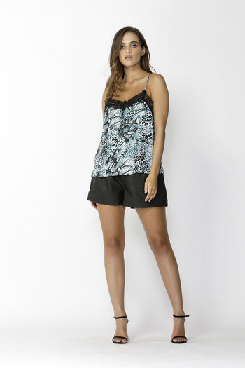Strong Enough Cami in Snake Print