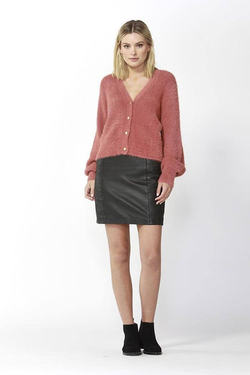 Ashbury Cardigan in Rose