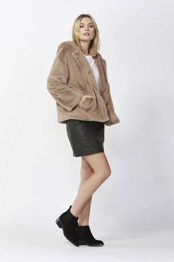 Ellis Faux Fur Coat