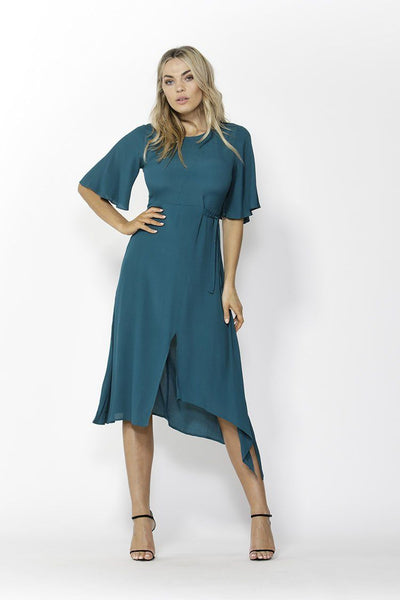 In the Mood Dress in Jade Dresses Fate + Becker
