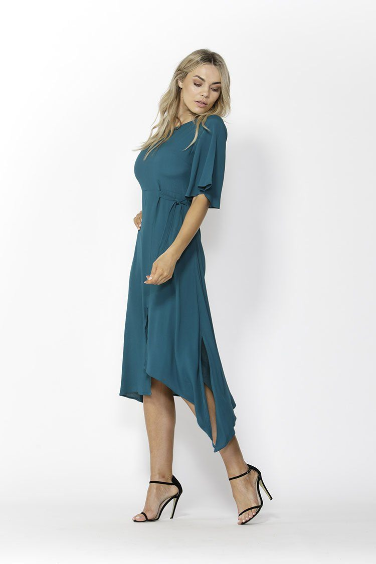 In the Mood Dress in Jade