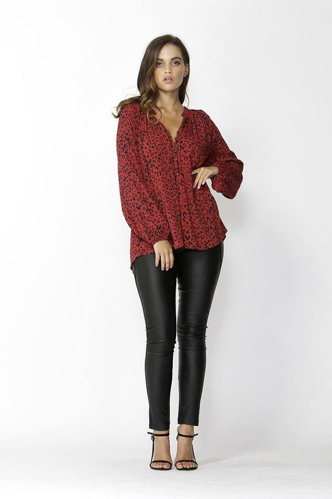 Strong Enough Shirt in Leopard