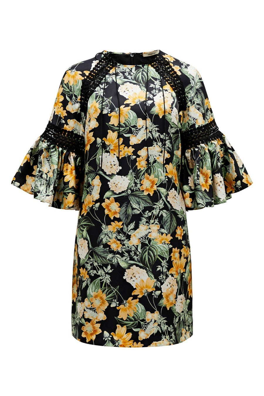 Golden Fields Print Dress