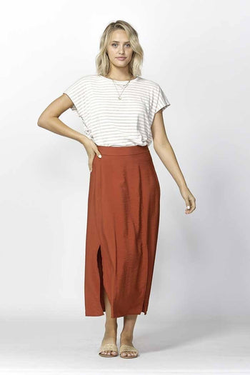 Take My Hand Slit Skirt