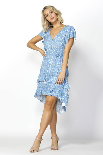 Seven Seas Ruffles Dress