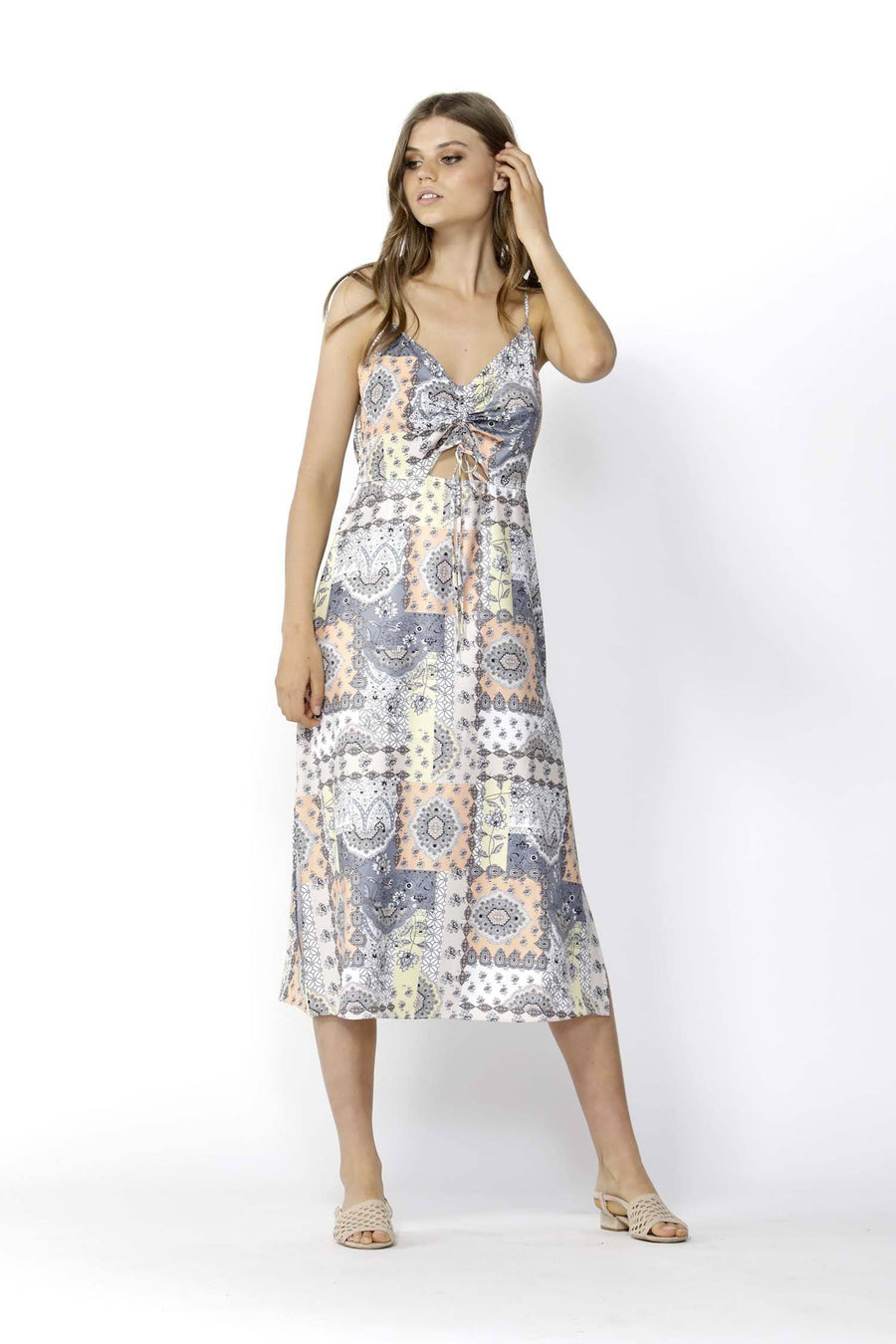 Lost in Lisbon Peekaboo Dress