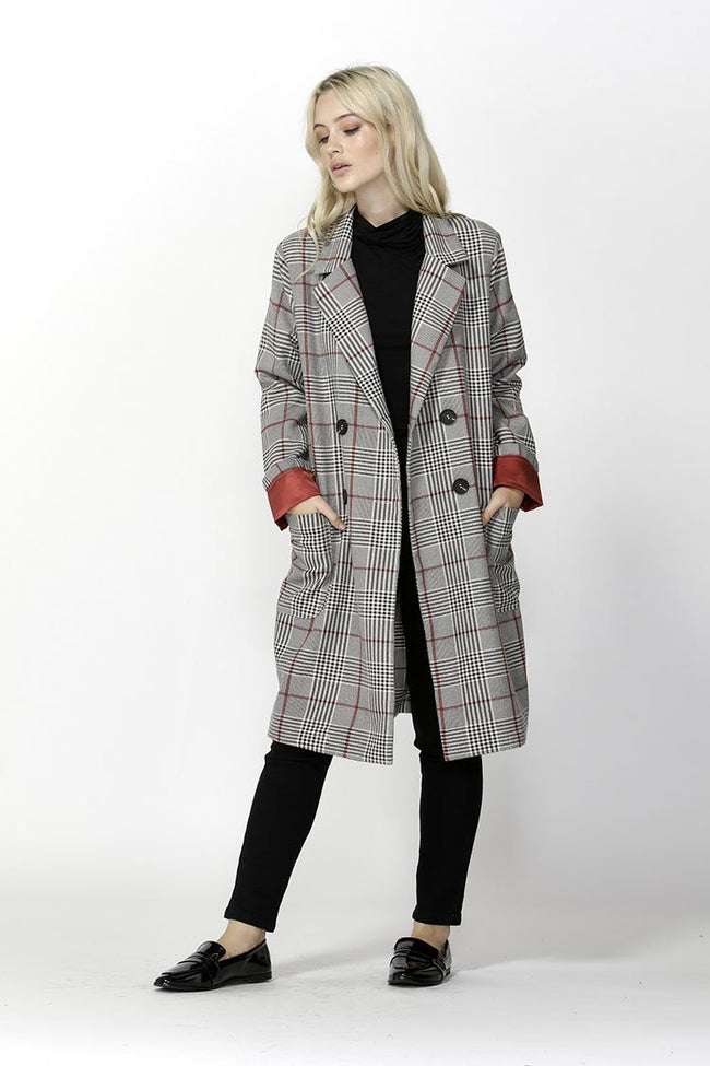 Undercover Check Trench