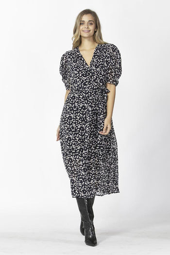 Beate Puff Maxi Dress