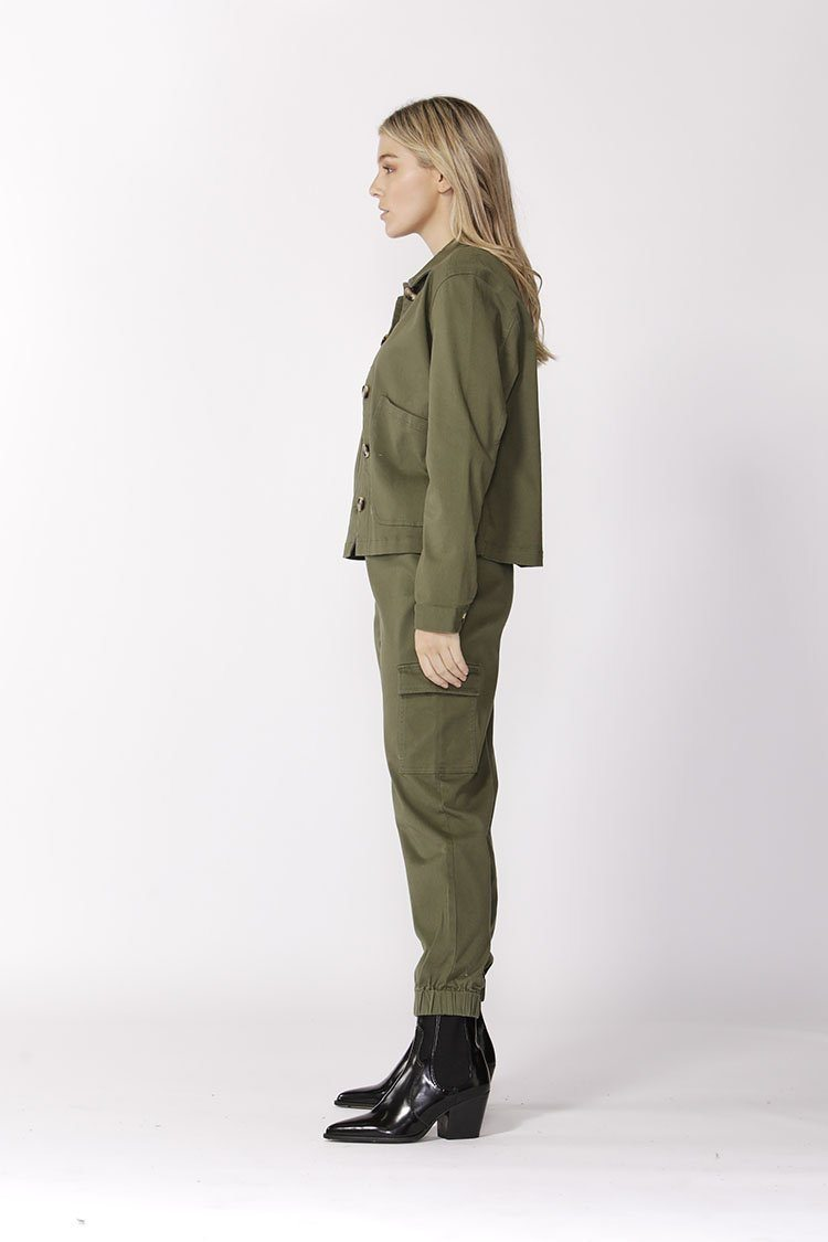 Take Charge Cargo Pants in Fern