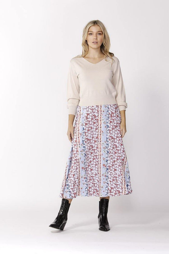 Ditzy Splice Skirt