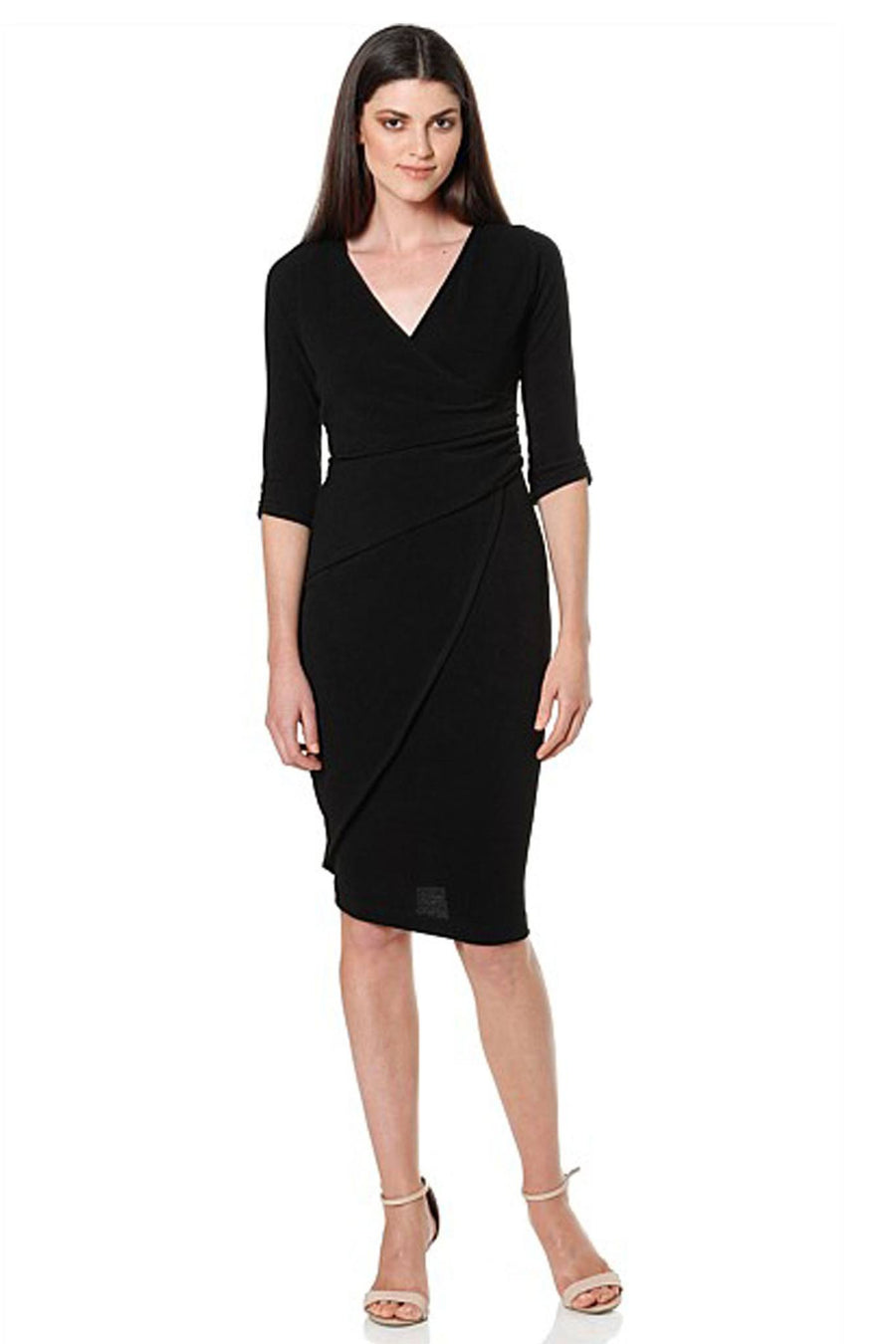 Faux Wrap Dress by Sacha Drake Frockaholics.com