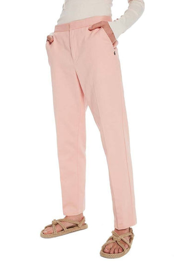 Tapered Leg Tailored Pants in Blush | FINAL SALE