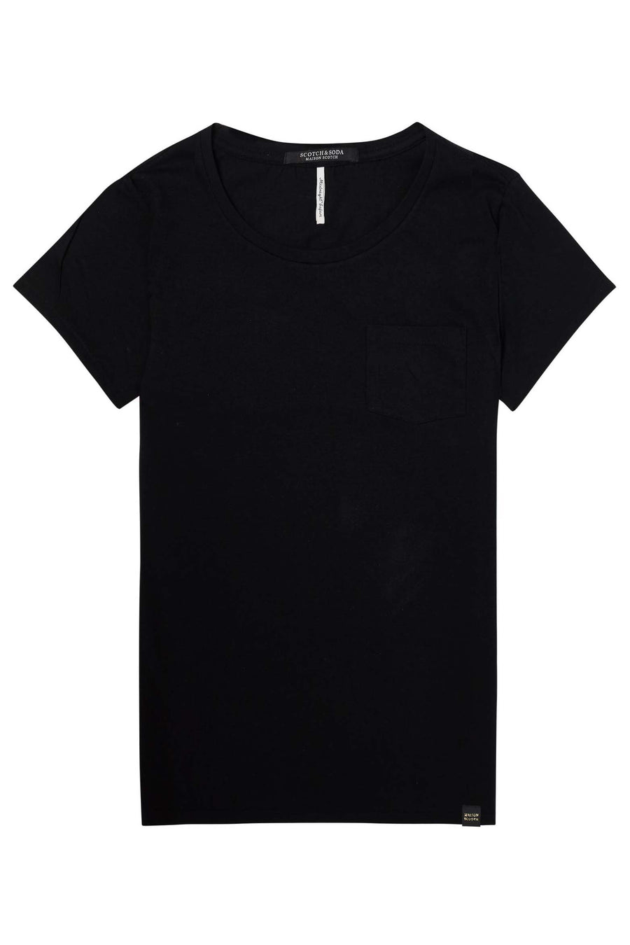 Basic Tee With Chest Pocket