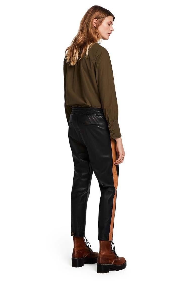 Sport Inspired Leather Pants | FINAL SALE