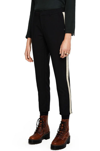 Tailored Stretch Pants w Side Panel