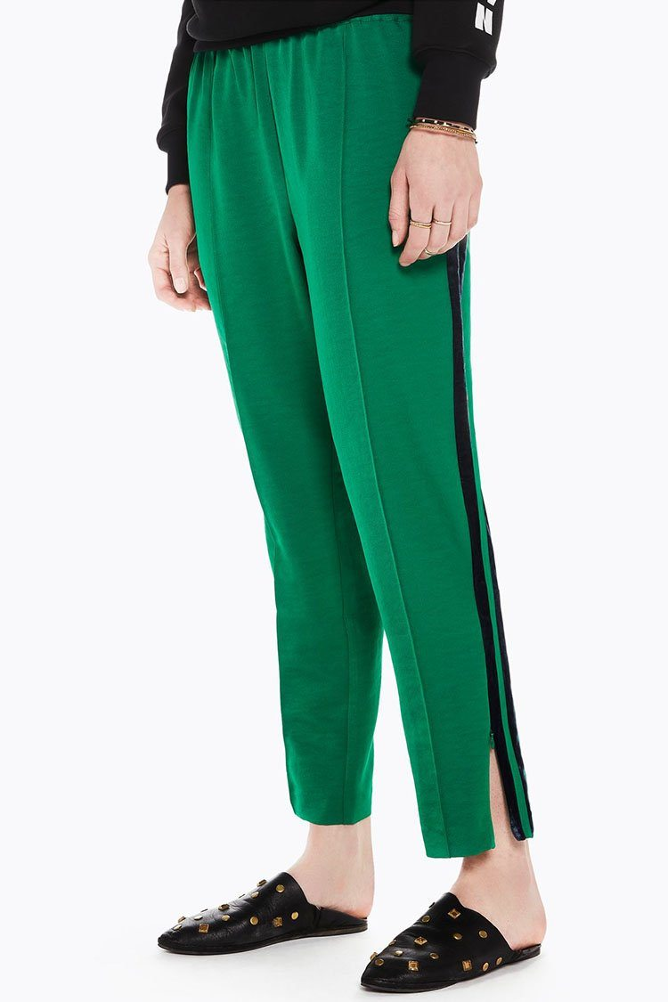 Tailored Pants w Velvet Side Tapes | FINAL SALE