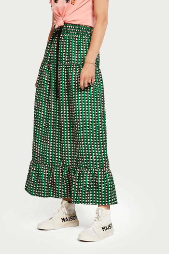 Printed Maxi Skirt in Combo A