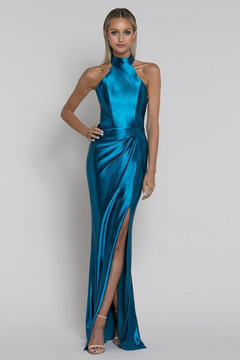 Sarah Liquid Draped Gown | FINAL SALE