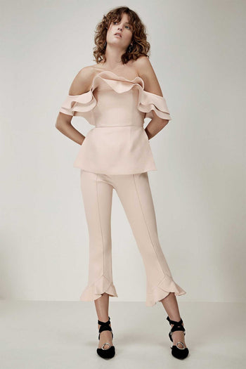 First Impression Top in Blush by C/MEO Collective