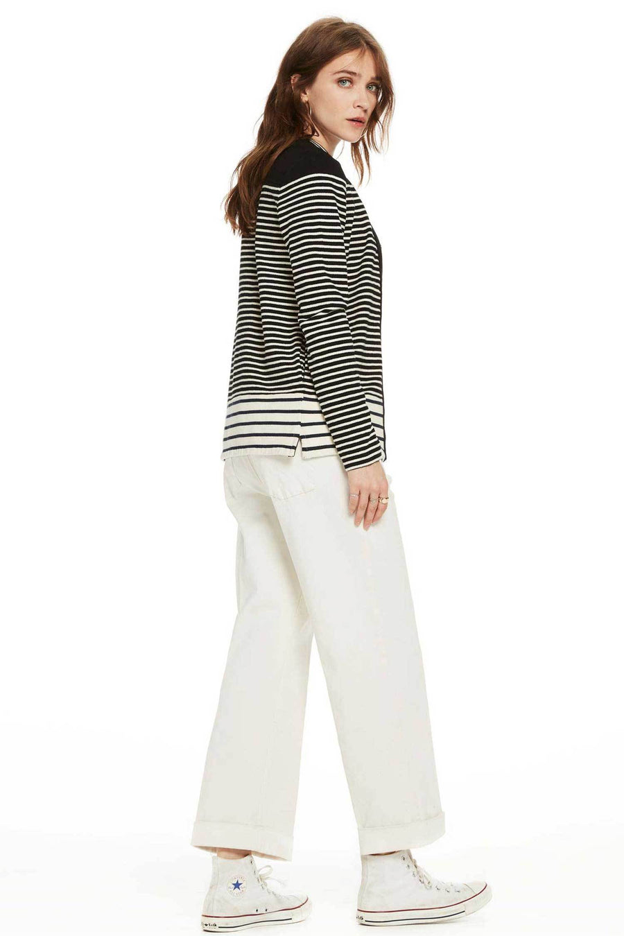 Shop Online Cotton Sweat Blazer by Maison Scotch  Frockaholics Tops