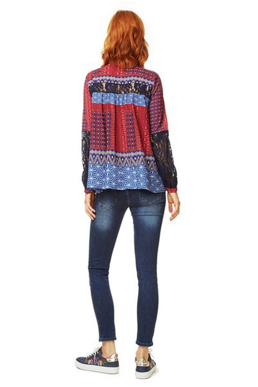 Shop Online Mona Shirt by Desigual  Frockaholics Tops