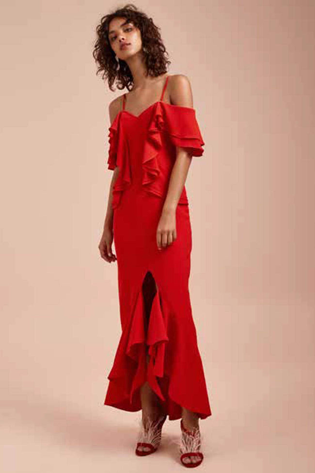 Shop Online Entice SS Gown by C/MEO Collective  Frockaholics Dresses