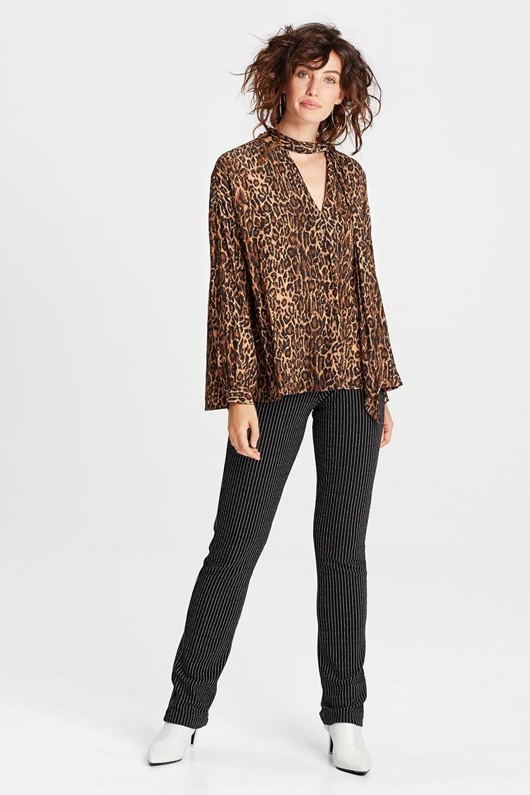 Scarf Shirt in Jaguar