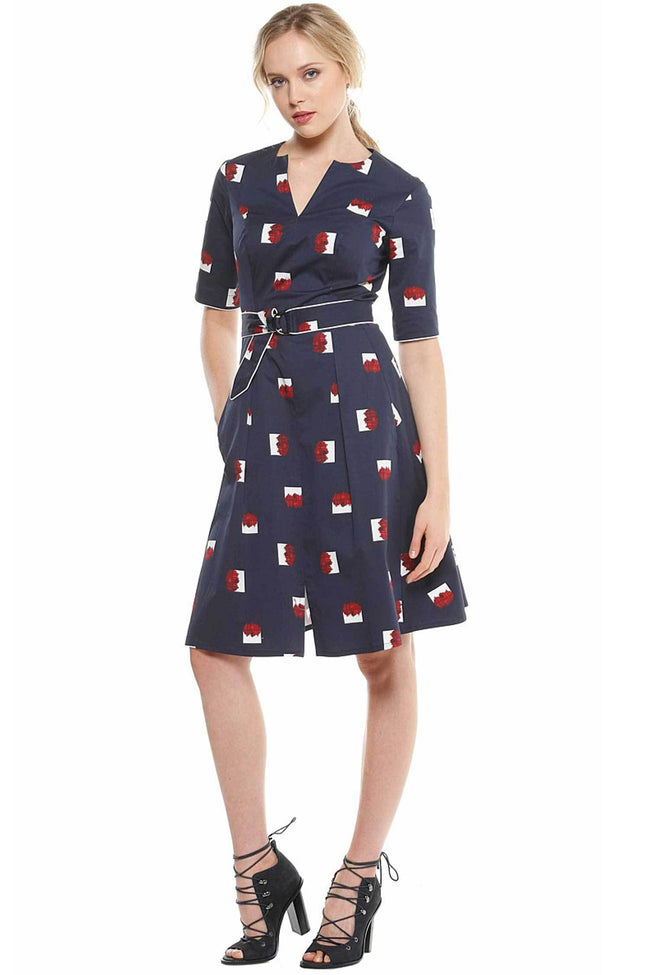 Shop Online Rimmington Shirtdress by Sacha Drake  Frockaholics Dresses