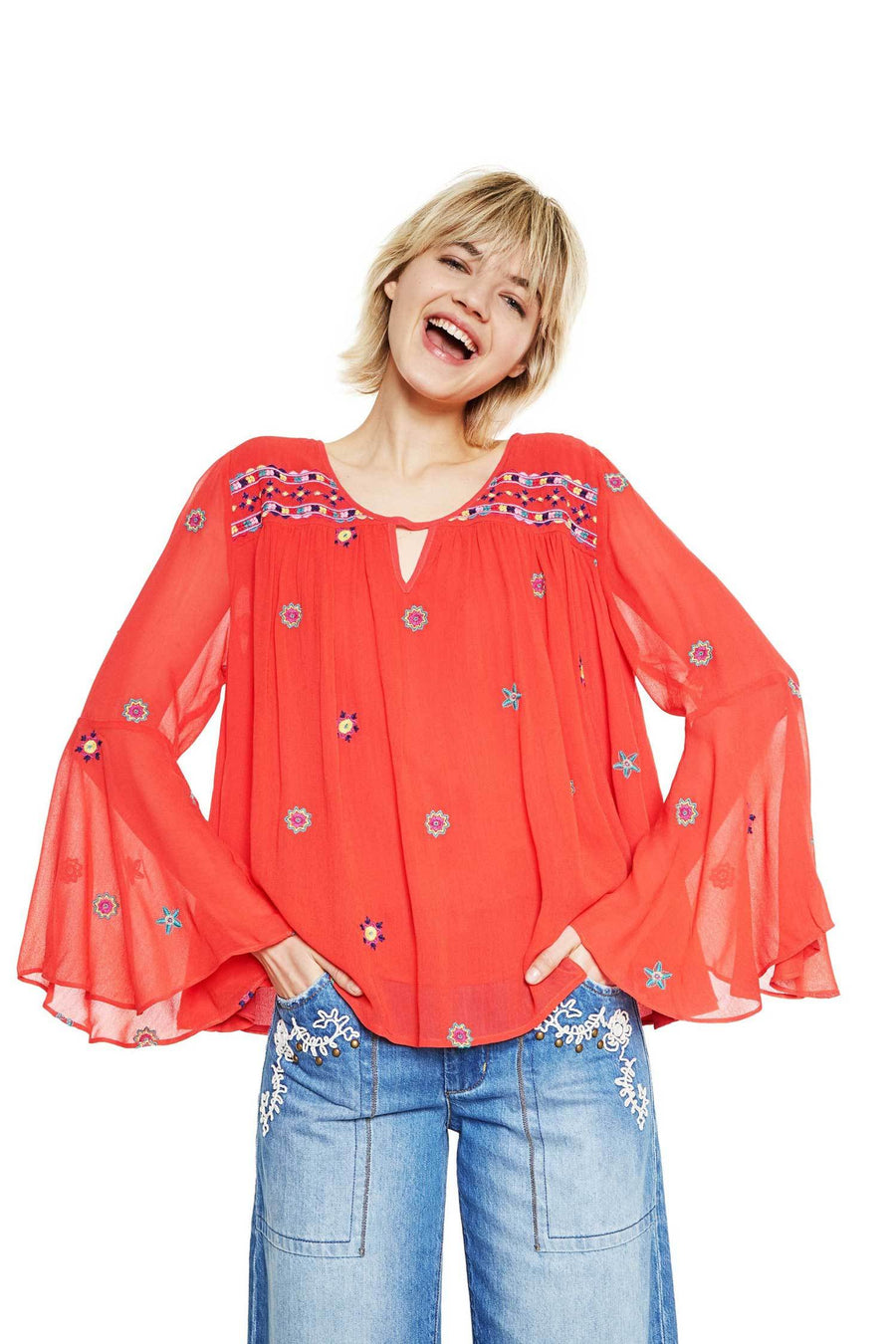 Shop Online Karissa Top by Desigual  Frockaholics Tops