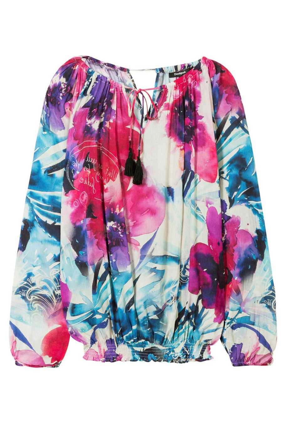 Shop Online Zazil Top by Desigual  Frockaholics Tops