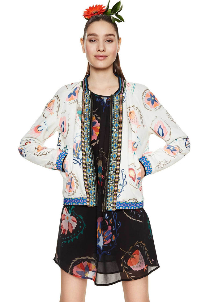 Shop Online My Way Reversible Bomber Jacket by Desigual  Frockaholics Jackets & Outerwear