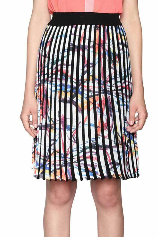 Shop Online Lady Liberty Skirt by Desigual  Frockaholics Bottoms