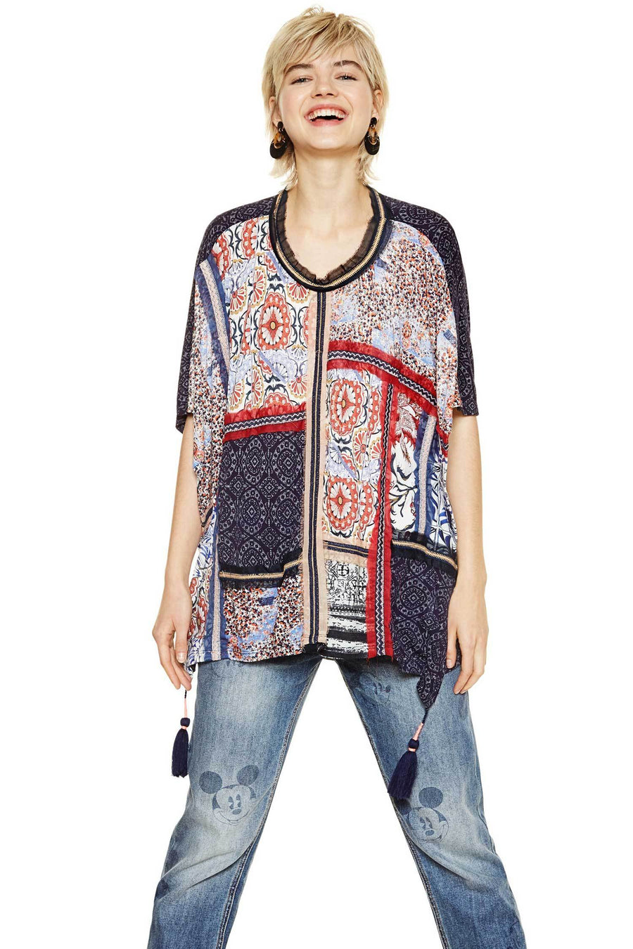 Shop Online Bobbie Top by Desigual  Frockaholics Tops