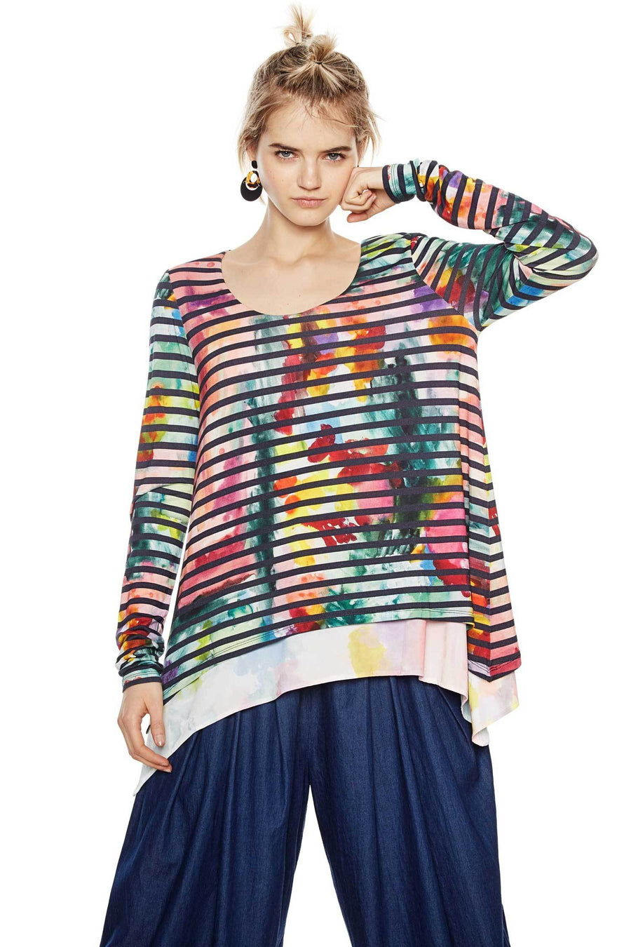 Shop Online Aretha Top by Desigual  Frockaholics Tops